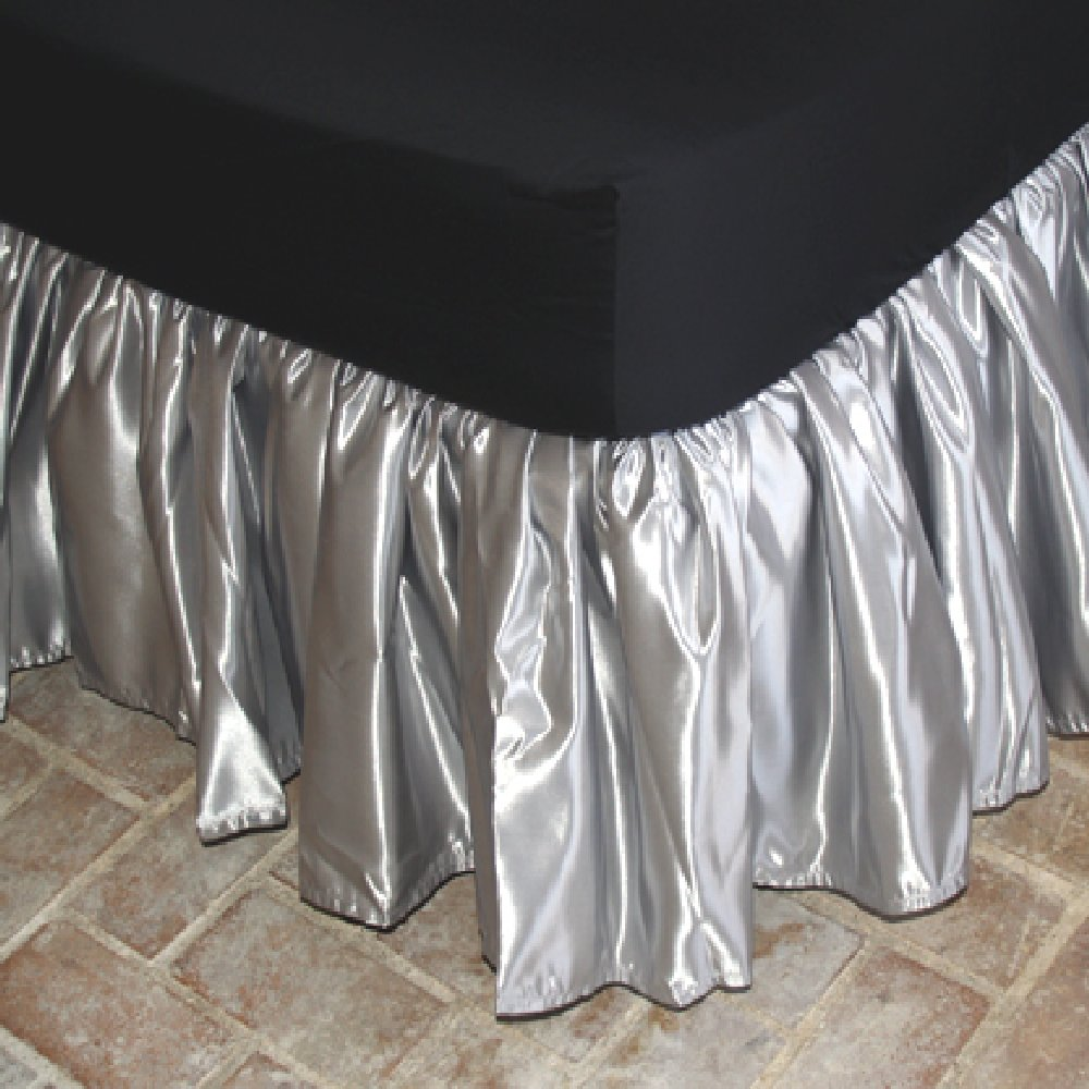 Satin Ruffled Bedskirts